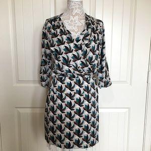 DVF Silk Wrap Dress